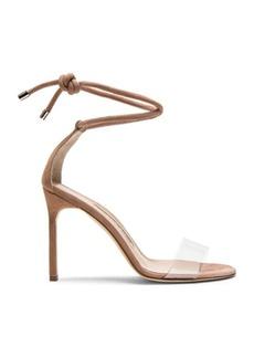 Manolo Blahnik 105 Suede Estro Sandals