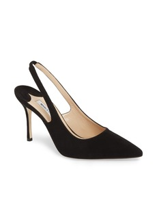 Manolo Blahnik Allura Slingback Pointy Toe Pump (Women)