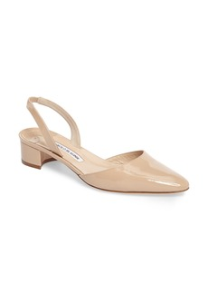 Manolo Blahnik Aspro Block Heel Pump (Women)