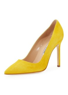 Manolo Blahnik BB 105mm Suede Pump