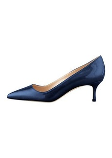 Manolo Blahnik BB Patent Leather 50mm Pump