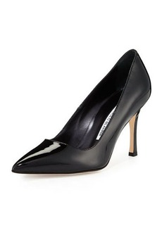 Manolo Blahnik BB Patent Leather 90mm Pump