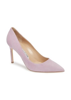 Manolo Blahnik BB Pointy Toe Pump (Women)