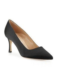 Manolo Blahnik BB Satin 70mm Pumps