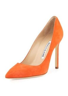 Manolo Blahnik BB Suede 105mm Pump