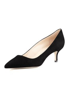 Manolo Blahnik BB Suede 50mm Pump