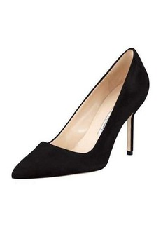 Manolo Blahnik BB Suede 90mm Pump