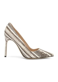 Manolo Blahnik BB Watersnake 105 Heel