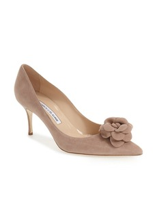 Manolo Blahnik 'Camelia' Pump (Women)