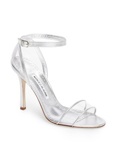 Manolo Blahnik Dandolo See-Through Strappy Sandal (Women)