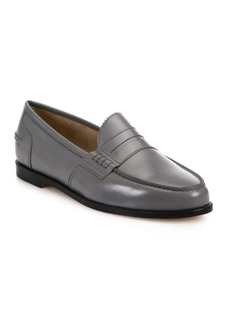 Manolo Blahnik Ellen Leather Loafers