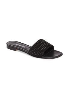Manolo Blahnik Falcopearl Slide Sandal (Women)