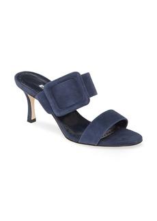 Manolo Blahnik Gable Buckle Sandal (Women)