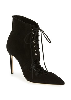 Manolo Blahnik 'Graco' Lace-Up Bootie (Women)