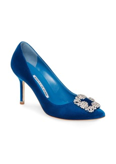 Manolo Blahnik Hangisi Jewel Pump (Women)