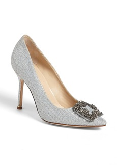 Manolo Blahnik 'Hangisi' Jeweled Pump (Women) (Nordstrom Exclusive)