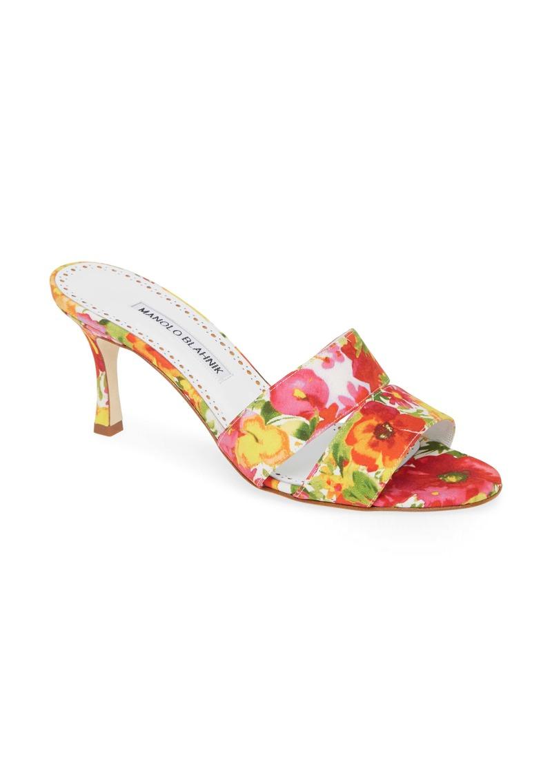 Manolo Blahnik Iacopo Double Band Sandal (Women)