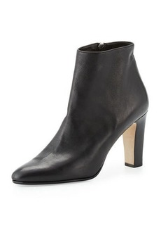 Manolo Blahnik Insopo Leather 90mm Ankle Boot