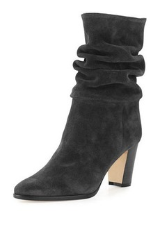 Manolo Blahnik Knight 70mm Suede Boot