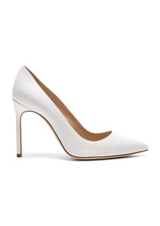 Manolo Blahnik Leather BB 105 Heels