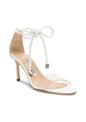 Manolo Blahnik Leather Estro 70 Sandals