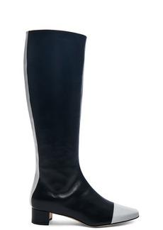 Manolo Blahnik Leather Wakia 30 Boot