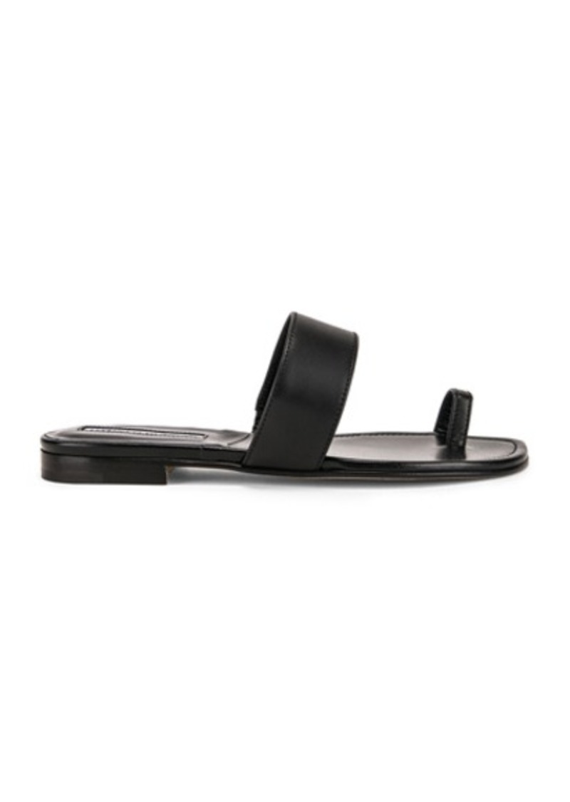 Manolo Blahnik Messen Sandal