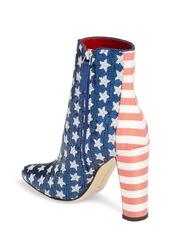 Manolo Blahnik Nancy Americana Sequin Bootie (Women)