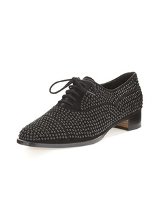 Perlita Studded Suede Oxford