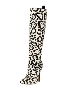 Manolo Blahnik Procopio Over-The-Knee Fur Boots