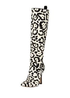 Manolo Blahnik Procopio Over-The-Knee Fur Boots