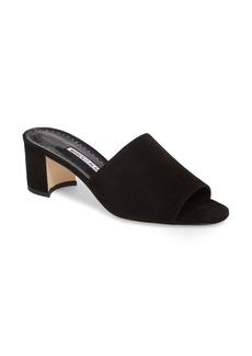 Manolo Blahnik Rapallato Slide Sandal (Women)