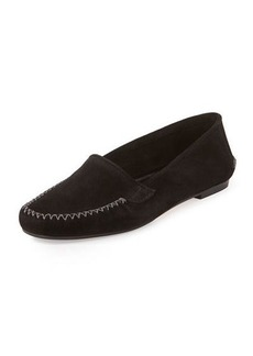 Manolo Blahnik Speed Suede Moccasin Driver Flat
