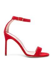 Manolo Blahnik Suede Chaos 105 Sandals