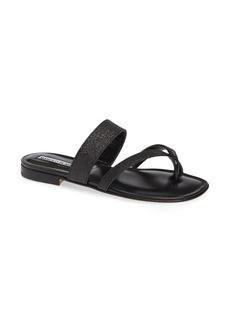 Manolo Blahnik Susa Toe Strap Sandal (Women)