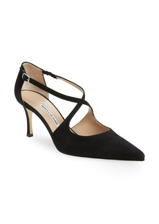 Manolo Blahnik 'Umice' Pointy Toe Pump (Women)
