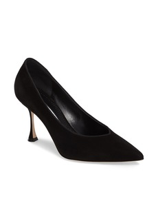 Manolo Blahnik Urgenze Pointy Toe Pump (Women)