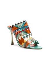 Manolo Blahnik Watersnake Arpege Sandals