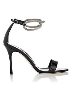 Manolo Blahnik Women's Annesaba Patent Leather Sandals