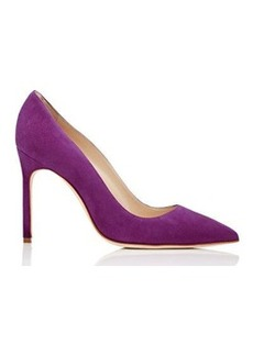 Manolo Blahnik Women's BB Pumps-Purple Size 8.5