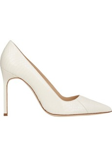 Manolo Blahnik Women's BB Pumps-WHITE Size 11