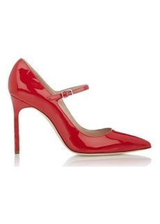 Manolo Blahnik Women's Brifa Mary-Jane Pumps-RED Size 9.5