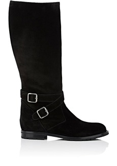 Manolo Blahnik Women's Campocross Suede Knee Boots