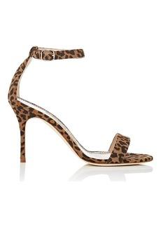 Manolo Blahnik Women's Chaos Suede Sandals