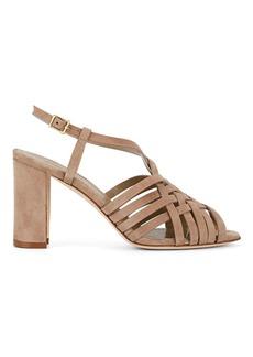 Manolo Blahnik Women's Edita Suede Sandals