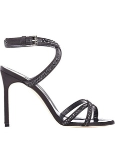 Manolo Blahnik Women's Embellished Kolbebibi Sandals-BLACK Size 7.5