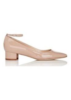 Manolo Blahnik Women's Listonystrap Ankle-Strap Pumps-BEIGE Size 9