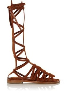 Manolo Blahnik Women's Martihizi Gladiator Sandals-BROWN Size 6.5