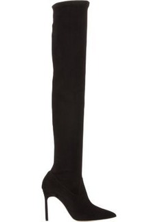 Manolo Blahnik Women's Pascalarehi Over-The-Knee Boots