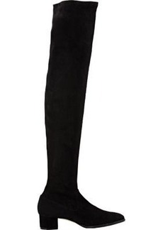 Manolo Blahnik Women's Pascalarehi Over-The-Knee Boots-BLACK Size 6